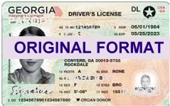 Georgia driver license , identity canada, new id, novelty design software card creator, new identity hologram secure quality product software print perfect solutions ID Cards