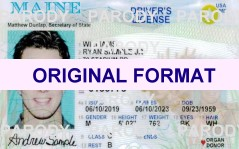 maine drivers license road test